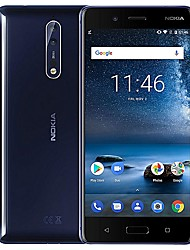 "baratos -NOKIA 8 Global Version 5.3 polegada "" Celular 4G (6GB + 128GB Lanterna / 13 mp Qualcomm Snapdragon 835 3090 mAh mAh) / 2560x1440"