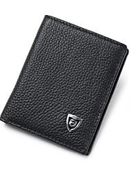 Недорогие -мужские сумки наппа кожаный кошелек крокодил черный / кофе