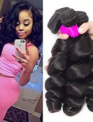 זול -3 חבילות שיער הודי גלי משוחרר שיער ראמי טווה שיער אדם הארכה שיער Bundle 8-28 אִינְטשׁ צבע טבעי שוזרת שיער אנושי וולנטיין סקסי ליידי הגעה חדשה תוספות שיער אדם בגדי ריקוד נשים