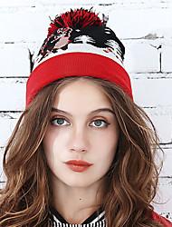 Недорогие -Жен. Активный Широкополая шляпа Геометрический принт