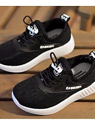 abordables -Garçon / Fille Chaussures Maille Printemps & Automne Confort Basket Elastique pour Enfants Noir / Gris / Rouge