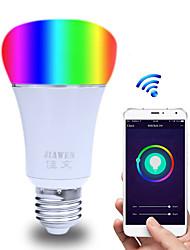 Недорогие -1шт 6 W 480 lm E26 / E27 Круглые LED лампы / Умная LED лампа ST64 23 Светодиодные бусины SMD 5730 Smart / Контроль APP / синхронизация Multi-цветы 85-265 V