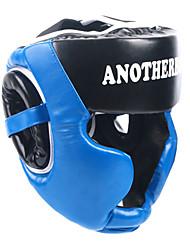 Недорогие -Боксерские головные уборы / Защита головы Назначение Муай Тай, Кикбоксинг, Спарринг, Борьба Защита от удара, Защита, Мягкий Регулируется, Экстра толстый, Прочный Кожа PU Взрослые -