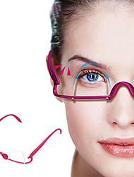 Недорогие -Веко Легко для того чтобы снести / Лучшее качество Составить 1 pcs Смешанные материалы Глаза Профессиональный / Высокое качество На каждый день Повседневный макияж Компактность Поддерживает