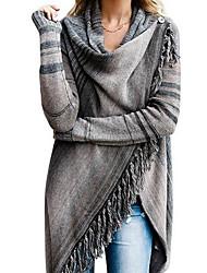 povoljno -Žene Ulični šik Kardigan Color block