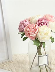 Недорогие -Искусственные Цветы 1 Филиал Классический Свадьба Свадебные цветы Камелия Букеты на стол