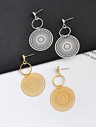ราคาถูก -สำหรับผู้หญิง คลาสสิค ต่างหูติดหู Drop Earrings - แฟชั่น เครื่องประดับ สีทอง / สีเงิน สำหรับ ทุกวัน เป็นทางการ 1 คู่