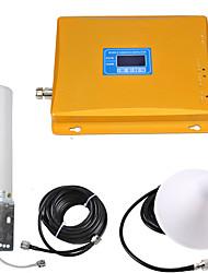 baratos -display lcd gsm / dcs sinal de repetidor de sinal de telefone celular amplificador de sinal de reforço 900/1800 dual band