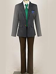 Недорогие -Вдохновлен Free! Haruka Nanase Аниме Косплэй костюмы Косплей Костюмы / Школьная форма Однотонный / Города / Простой Пальто / Блузка / Кофты Назначение Муж. / Жен.