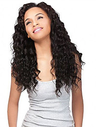 Remy Human Hair Full Lace Wig Brazilian Hair Loose Wave Water Wave