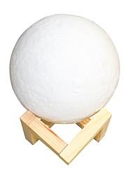 Недорогие -лунный свет погладить триколор 8 см умные огни yqd 0802 3d печать свет дома декоративные ночной свет для подарка