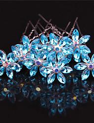 Недорогие -Камни и кристаллы Расчески с Стразы Свадьба / Вечеринка / ужин Заставка