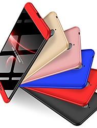 Недорогие -Кейс для Назначение Nokia Nokia 6 2018 Защита от удара / Матовое Кейс на заднюю панель Однотонный Твердый ПК