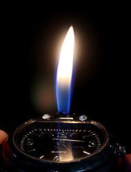 Недорогие -Муж. Наручные часы Уникальный творческий часы Кварцевый легче силиконовый Группа Аналоговый Черный - Белый Черный