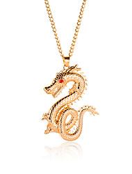 levne -Dámské Klasika Náhrdelníky s přívěšky Zlatá 65 cm Náhrdelníky Šperky 1ks Pro Denní