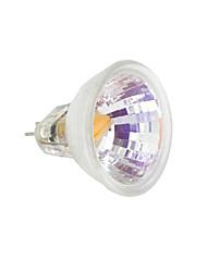 Недорогие -1шт 2 W 230-250 lm MR11 Двухштырьковые LED лампы 1 Светодиодные бусины COB Тёплый белый