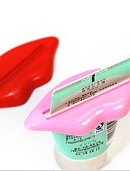 Недорогие -2 шт. / Пакет сексуальный горячий поцелуй губ ванной трубки диспенсер зубная паста крем соковыжималка домой трубка прокатки держатель соковыжималка