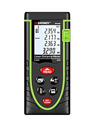 baratos -SNDWAY SW-M40/M60/M80/M100 0.2M~40M/60M/80M/100M Medidor de distância a laser Auto-Off Desligado / Auto Ligado / Desligado / Fácil Uso para instalação de móveis / para medição de engenharia / para