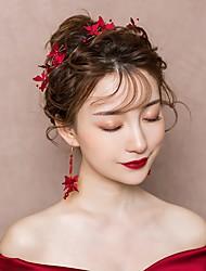 preiswerte -Baumwolle Kopf Kette mit Blumig 1 Stück Hochzeit / Besondere Anlässe Kopfschmuck