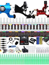 Недорогие -DRAGONHAWK Татуировочная машина Профессиональный комплект для татуировки - 3 pcs татуировки машины, Многофункциональный / Безопасность / Простота установки Сплав LCD питания No case 3