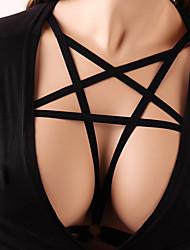 Недорогие -Женский Сексуальные платья На бретелях Аксессуары для бюстгальтера Открытые чашки - Однотонный