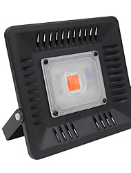 hesapli -1pc 50 W / 900 W 2000-2500 lm 1 LED Boncuklar Tam Spektrum Büyüyen Işık Fikstürü Kırmızı 220 V