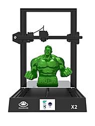 Недорогие -Комплект принтеров huaxu3d® x2 diy 3d с 3,5-дюймовым цветным экраном с поддержкой подключения SD-карты / возобновления питания