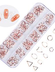 ieftine -240 pcs Cea mai buna calitate Materiale ecologice Bijuterie unghii Pentru Inimă nail art pedichiura si manichiura Zilnic La modă