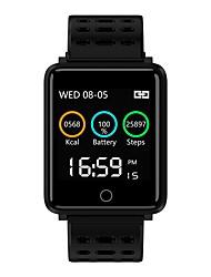 Недорогие -BoZhuo F21 Умный браслет Android iOS Bluetooth Спорт Водонепроницаемый Пульсомер Измерение кровяного давления Педометр Напоминание о звонке Датчик для отслеживания сна Сидячий Напоминание будильник