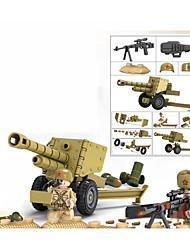 Недорогие -Конструкторы 192 pcs Армия Танк Снайперская винтовка моделирование Военная техника Танк Все Игрушки Подарок Legoingly
