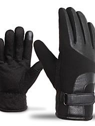 Недорогие -Полныйпалец Муж. Мотоцикл перчатки Флокирование Сенсорный экран / Сохраняет тепло / Non Slip