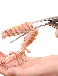 Недорогие -1шт Кухонные принадлежности нержавеющий Мягкость / Инструменты Инструменты Креветка