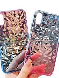 Недорогие -Cooho Кейс для Назначение Apple iPhone X / iPhone XS Max Бумажник для карт / Защита от удара / Защита от пыли Кейс на заднюю панель Градиент цвета Мягкий ТПУ для iPhone XS / iPhone XR / iPhone XS Max