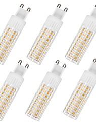 Недорогие -6шт 7.5 W 937 lm G9 LED лампы типа Корн T 100 Светодиодные бусины SMD 2835 Тёплый белый / Холодный белый 85-265 V