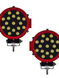 Недорогие -KAWELL 2pcs Автомобиль Лампы 51W 3100lm Светодиодная лампа Рабочее освещение