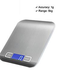 Недорогие -5kg/1g Высокое разрешение Электронные кухонные весы Семейная жизнь