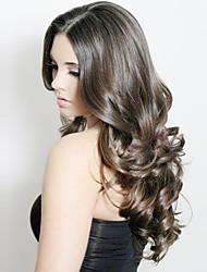 Недорогие -Натуральные волосы Лента спереди Парик стиль Индийские волосы Естественные кудри Парик 130% Плотность волос Wig Accessories