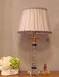 abordables -Cristal Décorative Lampe de Table Pour Chambre à coucher Cristal 220-240V