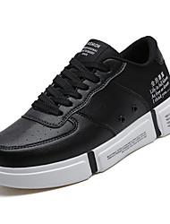 hesapli -Erkek Ayakkabı PU / Elastik Kumaş Kış Günlük Spor Ayakkabısı Günlük için Siyah / Siyah / Beyaz / Siyah / Kırmızı
