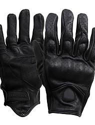 Недорогие -Полныйпалец Муж. Мотоцикл перчатки Кожа Дышащий / Износостойкий / Защитный