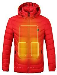 Недорогие -интеллектуальная куртка для мотоцикла с подогревом для унисекс зимняя водонепроницаемая / защитная / дышащая