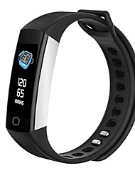Недорогие -Indear DC68plu Умный браслет Android iOS Bluetooth Smart Спорт Водонепроницаемый Пульсомер / Измерение кровяного давления / Сенсорный экран / Израсходовано калорий / Длительное время ожидания
