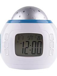 abordables -1pc Musique Réveil Projecteur Sky NightLight Coloré Batteries AAA alimentées Pour les enfants / Couleurs changeantes / Décoration Pile