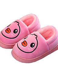 Недорогие -Универсальные Обувь Хлопок Зима Удобная обувь Тапочки и Шлепанцы для Дети (1-4 лет) Пурпурный / Розовый / Тёмно-синий