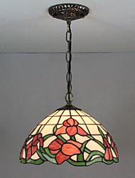 abordables -Lampe suspendue Lumière d'ambiance Finitions Peintes Verre Verre Multi-teintes, Créatif 110-120V / 220-240V