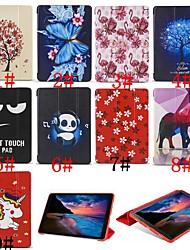 billiga -fodral Till Samsung Galaxy Tab A2 10.5(2018) Lucka / Ultratunt / Mönster Fodral Enhörnings / Flamingo / Djur Mjukt Silikon för Tab A2 10.5(2018)