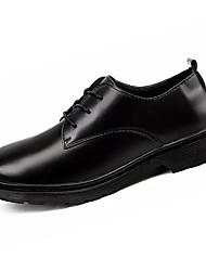 hesapli -Erkek Ayakkabı PU Bahar Günlük Oxford Modeli Günlük için Siyah
