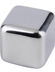 Недорогие -камень из виски из нержавеющей стали кубики льда мыльный камень ледник кулер камень 1шт