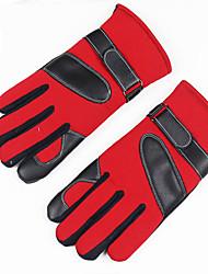 Недорогие -Муж. Для офиса / Классический С пальцами Перчатки Контрастных цветов