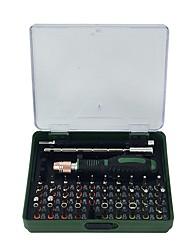 Недорогие -Factory OEM Инструменты 55 в 1 Наборы инструментов для ремонта компьютеров Ремонт телефонов
